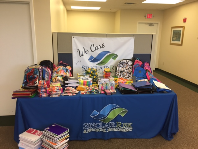 Backpack School Supply Drive