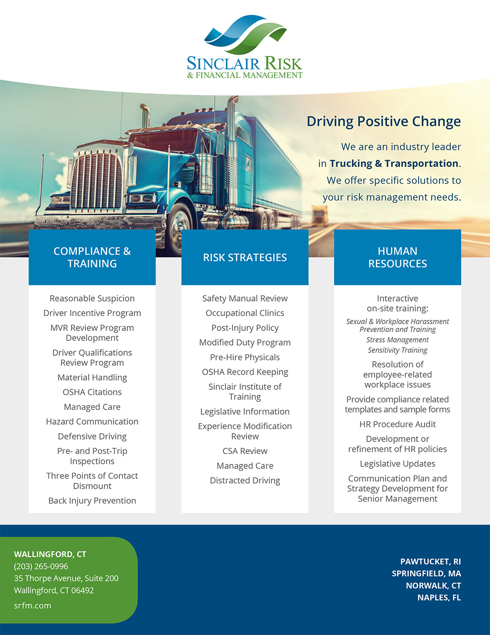 Driving Positive Change